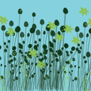 Teal Garden