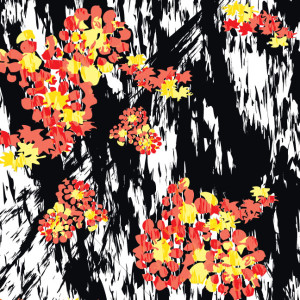 Grunge Garden Orange