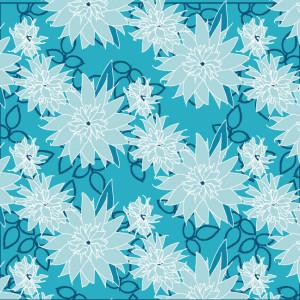 Bouquet Blue Leaves
